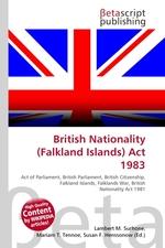 British Nationality (Falkland Islands) Act 1983