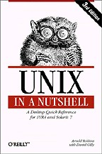 Unix in a Nutshell: A Desktop Quick Reference for SVR4 and Solaris 7. 3-rd edition. На английском языке