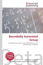 Boundedly Generated Group