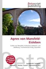 Agnes von Mansfeld-Eisleben