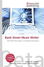 Bank Street Music Writer
