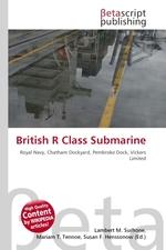 British R Class Submarine