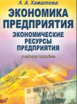 Экономика предприятия: учебное пособие