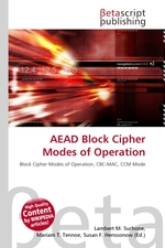 AEAD Block Cipher Modes of Operation