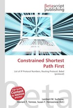 Constrained Shortest Path First
