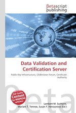 Data Validation and Certification Server