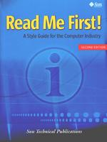 Read Me First! A Style Guide for the Computer Industry, Second Edition