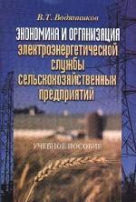 Экономика и организация электроэнергетической службы сельскохозяйственных предприятий