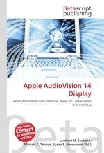 Apple AudioVision 14 Display