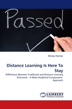 Distance Learning Is Here To Stay. Differences Between Traditional and Distance Learning Outcomes - A Meta-Analytical Comparative Approach
