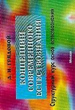 Концепция современного естествознания. Структурный курс основ естествознания: учебное пособие в схемах, определениях и таблицах