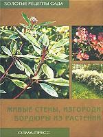 Живые стены, изгороди, бордюры из растений