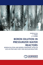 BORON DILUTION IN PRESSURIZER WATER REACTORS. BORON DILUTION AND BORON TRANSPORT AFTER SB LOCA IN PWR AND VVER-1000 NUCLEAR REACTORS