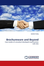 Brochureware and Beyond. Case studies of consultant-developed small business web sites