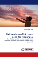 Children in conflict zones-need for reappraisal. The effect of conflicts on children worldwide is profound, and needs to be realized by international community