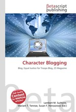 Character Blogging