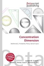 Concentration Dimension