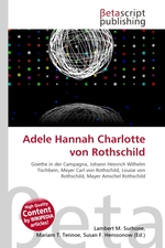 Adele Hannah Charlotte von Rothschild