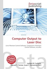 Computer Output to Laser Disc