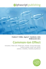 Common-ion Effect