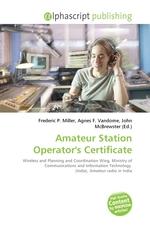 Amateur Station Operators Certificate