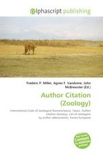 Author Citation (Zoology)