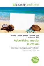 Advertising media selection