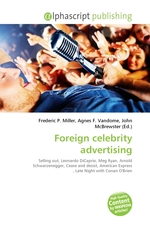 Foreign celebrity advertising