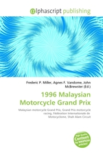 1996 Malaysian Motorcycle Grand Prix