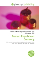 Roman Republican Currency
