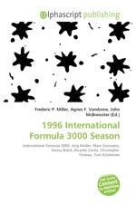 1996 International Formula 3000 Season
