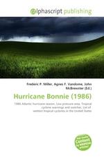 Hurricane Bonnie (1986)