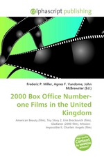 2000 Box Office Number-one Films in the United Kingdom