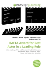 BAFTA Award for Best Actor in a Leading Role