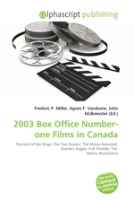 2003 Box Office Number-one Films in Canada