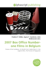 2007 Box Office Number-one Films in Belgium