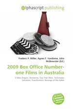 2009 Box Office Number-one Films in Australia