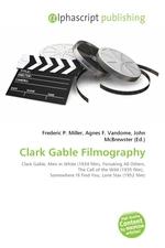 Clark Gable Filmography