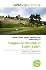 Margravine Johanna of Baden-Baden