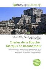 Charles de la Boische, Marquis de Beauharnois
