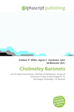 Cholmeley Baronets