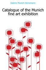 Catalogue of the Munich fine art exhibition