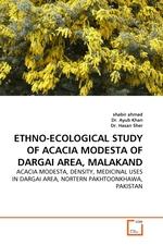 ETHNO-ECOLOGICAL STUDY OF ACACIA MODESTA OF DARGAI AREA, MALAKAND. ACACIA MODESTA, DENSITY, MEDICINAL USES IN DARGAI AREA, NORTERN PAKHTOONKHAWA, PAKISTAN