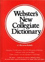 Webster`s New Collegiate Dictionary