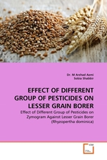 EFFECT OF DIFFERENT GROUP OF PESTICIDES ON LESSER GRAIN BORER. Effect of Different Group of Pesticides on Zymogram Against Lesser Grain Borer (Rhyzopertha dominica)