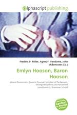 Emlyn Hooson, Baron Hooson
