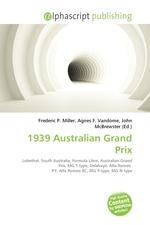 1939 Australian Grand Prix