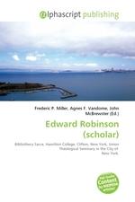 Edward Robinson (scholar)