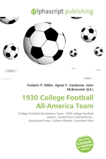 1930 College Football All-America Team