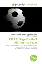 1933 College Football All-America Team